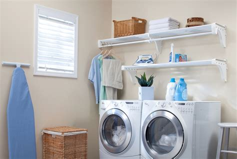 laundry organizer shelves in laundry room preferred home design