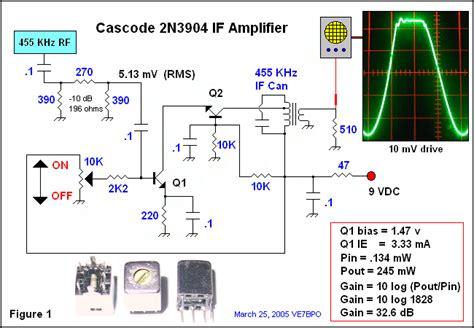 transistor rf lifier circuit cascode bjt rf lifier lifier circuit circuit