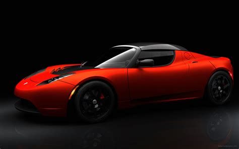tesla roadster sport wallpaper hd car wallpapers