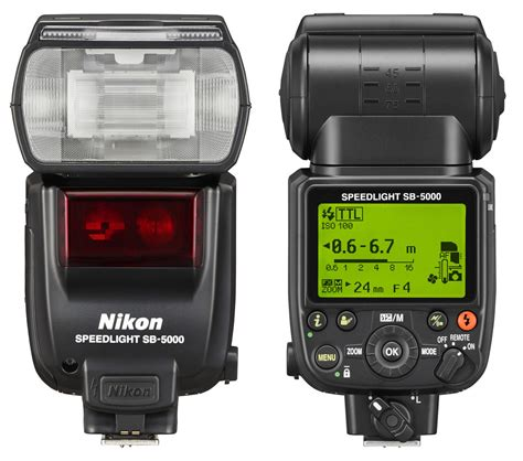 tutorial flash nikon nikon sb 5000 speedlight with radio announced flash