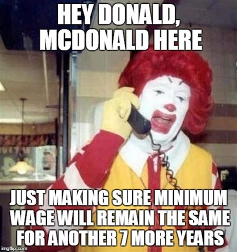 Mcdonald Memes - ronald mcdonald on the phone imgflip