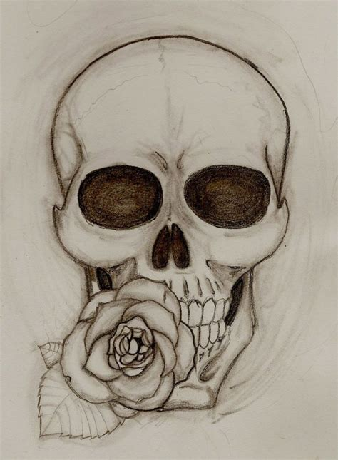 skull and rose tattoos meaning 7 best images about drawings on