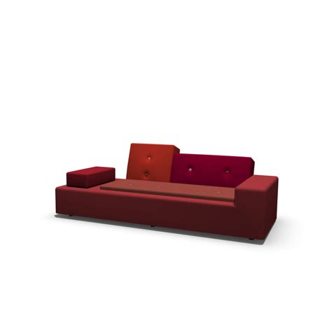 vitra polder sofa polder sofa xs design and decorate your room in 3d