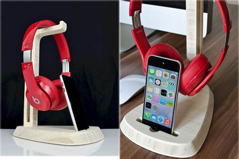Sound Desk Instrumentals by A Stand For Your Headphones And Phone The Gadgeteer