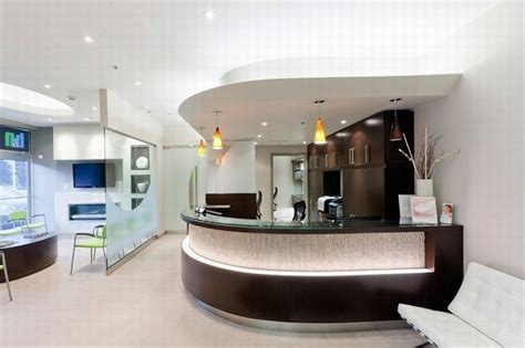 Modern Mediterranean Interior Design by Modern Dental Office Interior Design Including Lobby