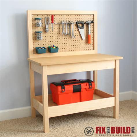 diy kids workbench buildsomethingcom