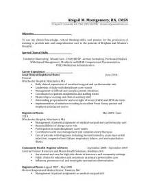 Wound Ostomy Continence Sle Resume by Surgical Resume Berathen