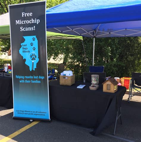 Orland Park Food Pantry by Microchip Scans Lost Dogs Illinois