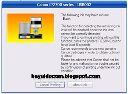 ip2770 resetter 2014 printer canon ip2770 error blink 16x dilayar windows