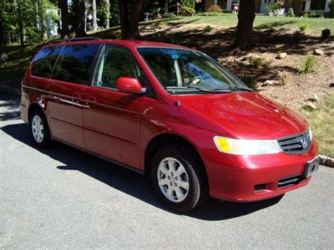 sell   honda odyssey   heated leather seats  owner clean carfax  morris plains