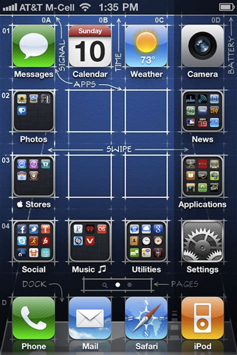 icon layout iphone jailbreak gridlock for iphone allows custom icon positioning