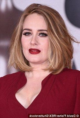 The 25 Best Adele Haircut | 15 photo of adele shoulder length bob hairstyles