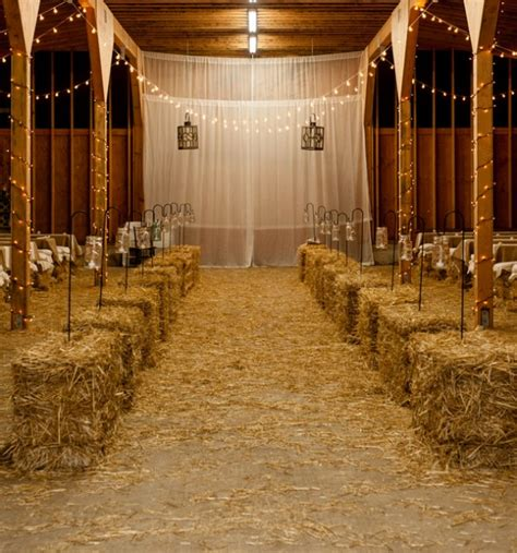 Shaded Patio Plants 18 Ways To Use Straw Bales For A Shabby Chic Wedding