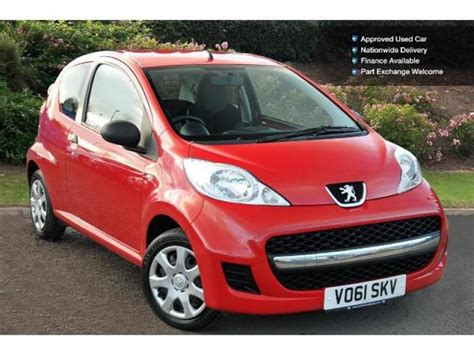 peugeot approved used used peugeot 107 1 0 urban lite 3dr petrol hatchback for
