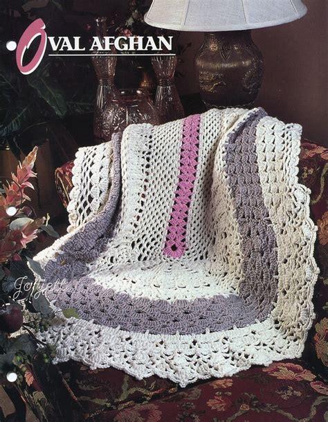 crochet pattern bulky yarn afghan oval afghan annie s bulky yarn crochet pattern ebay