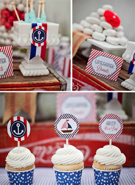 nautical themed baby showers nautical ahoy it s a boy baby shower