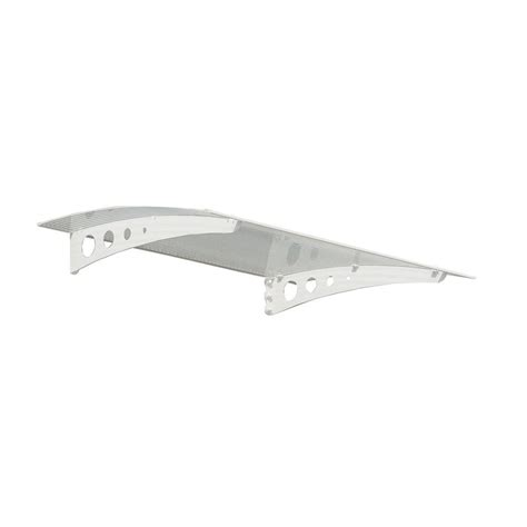 wall awning palram feria 10 ft x 10 ft white patio cover awning 702720 the home depot