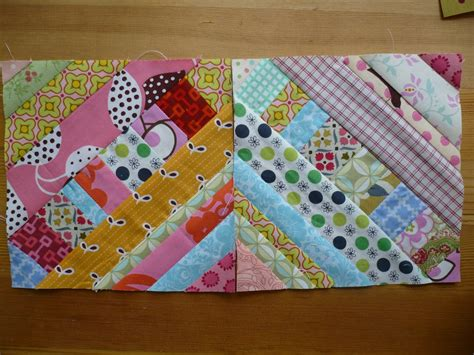 String Pieced Quilt Blocks miss print tutorial pieced centre string quilt block