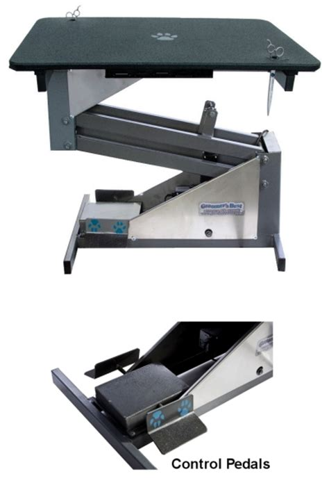 Electric Lift Table by Lift Hydraulic Electric Grooming Tables For Dogs