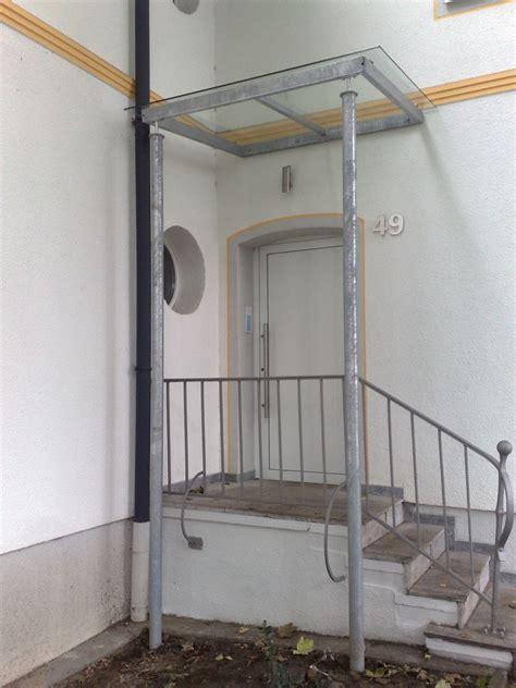 Vordach Stahl Glas by Vordach Aus Glas Und Verzinktem Stahl Metallbau Bochum