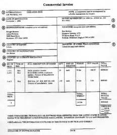 fedex commercial invoice printable invoice template