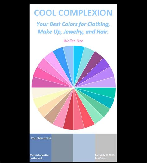 what is the best color cool skin tone color wheel archives here are your best