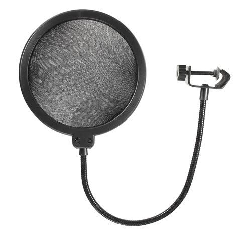 Microphone Bracket Stand Adjustable Holder Pop Filter 3 digital media players streamers bm 800 condenser