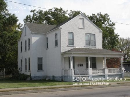 1 bedroom apartments in cape girardeau mo cape girardeau 1 bedroom rental at 520 s sprigg st cape