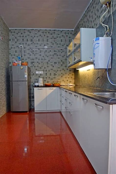 What are some simple kitchen design ideas I can use?