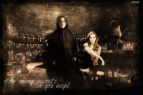 Hermione Granger Potions by Severus Snape And Hermione Granger In Potions By