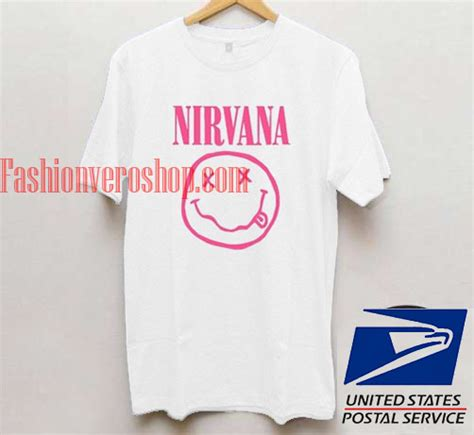 T Shirt Nirvana Logo nirvana logo t shirt unisex mens t shirt and t