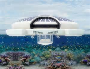 Teak Armchairs Underwater Hotel Design Swan