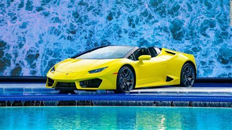 Lamborghini's new convertible should be a blast   Nov. 16