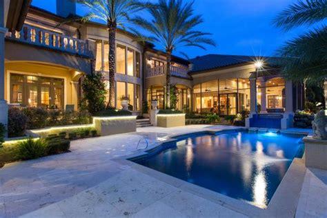 luxury backyards tour a luxurious waterfront home in merritt island fla