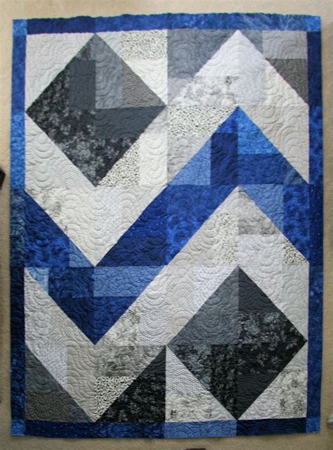Blue Grey Quilt Pin By Elizabeth Townsend Gard On Quilting Ideas