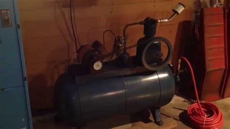 devilbiss air compressor youtube