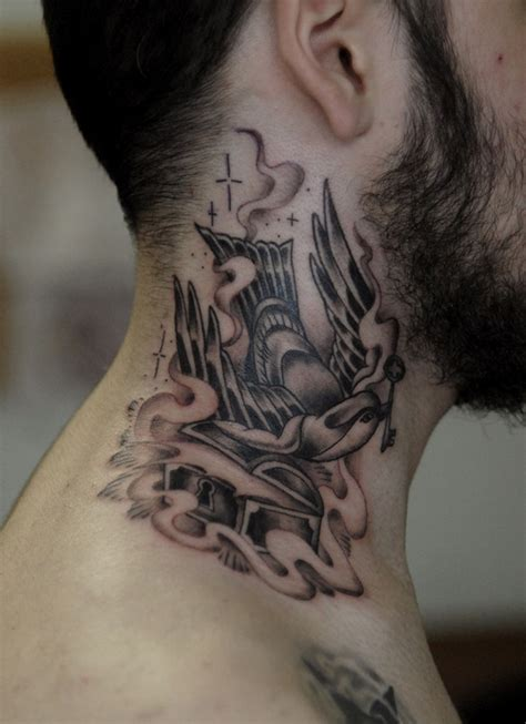 sweet tattoos for guys 17 sweet ripped neck tattoos