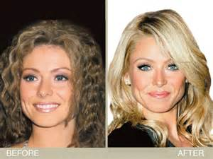 hair color ripa uses kelly ripa s brown to blonde hair makeover hair color