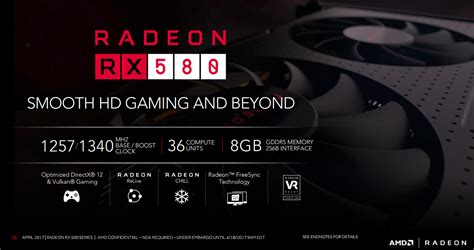 Xfx Radeon Rx 580 4gb Ddr5 Gts Oc Dual Fan Diskon amd s rx 580 reviewed amd takes the fight to the gtx 1060