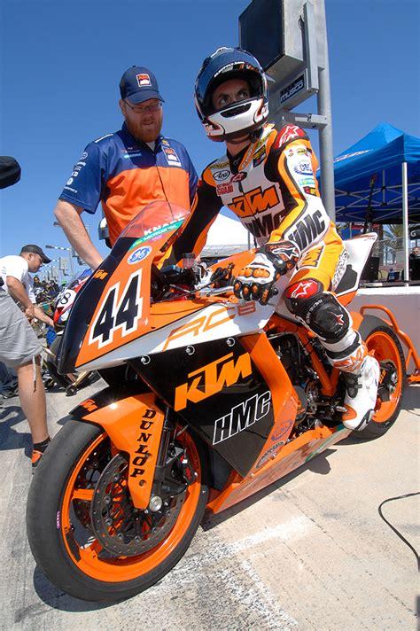 Ktm Motorrad Rennen by Ktm Superbikes In Daytona Rennen 2 Ktm