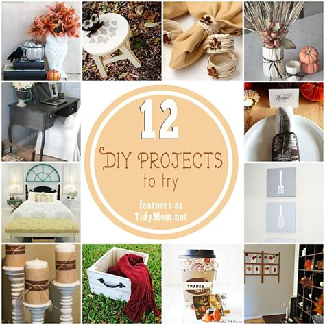 diy projects to try 12 diy projects to try