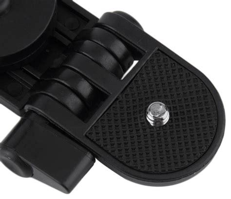 Portable Mini Tripod Lipat For Dslr Smartphone jual gadget tripod lipat 2 in 1 tripod kamera universal