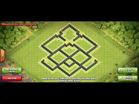 layout cv 7 farming youtube clash of clans layout cv 7 farm youtube