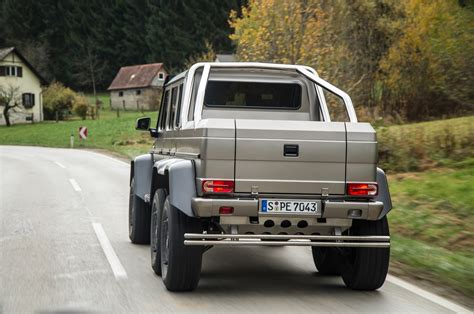 mercedes pickup truck 6x6 interior official 2015 geneva international motor show thread