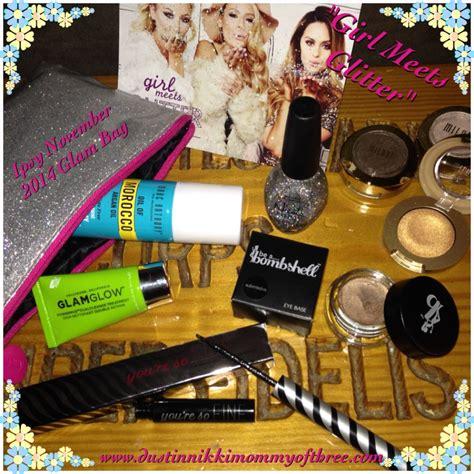 Ipsy Gift Card - ipsy beauty bag subscription girl meets glitter november 2014 with video ipsy
