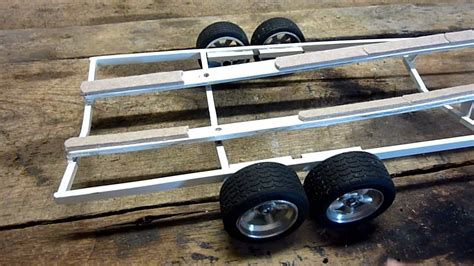 rc boat trailer video rc boat trailer youtube