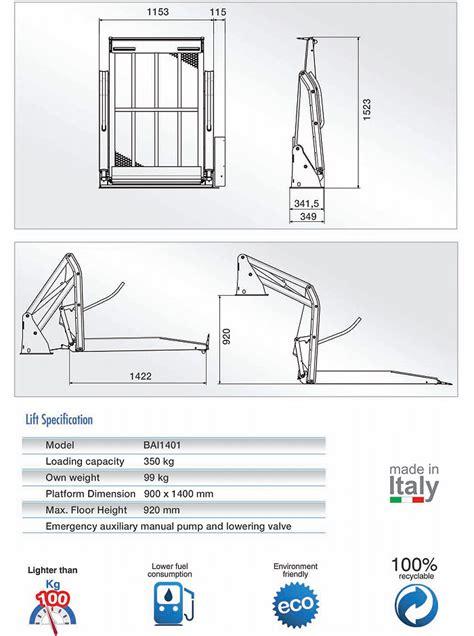 pedane alluminio pedane alluminio sollevatori per trasporto disabili