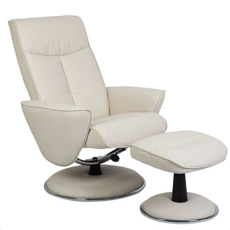 recliner and ottoman set mac motion chairs oslo recliner and ottoman set in