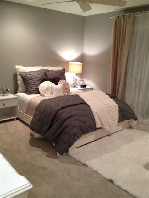 gray and beige bedroom grey beige white bitchin bedrooms pinterest
