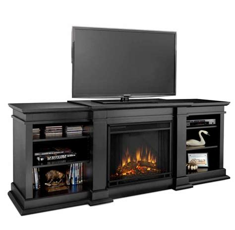 Electric Fireplace Media Center Fresno G1200eb Black Media Center Electric Fireplace Just Fireplaces